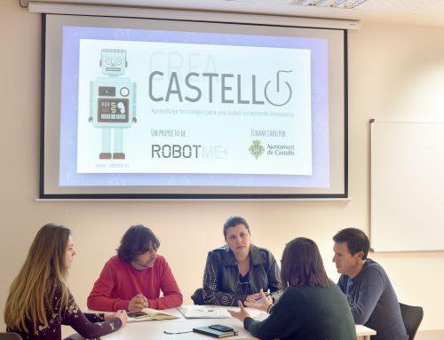 """Arranca el proyecto """"Crea Castelló, aprendizaje tecnológico para una sociedad socialmente innovadora"""""""