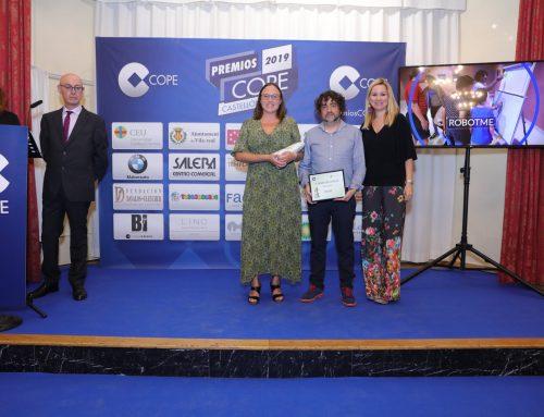 Recibimos el premio a la innovación en los IX Premios COPE Castellón